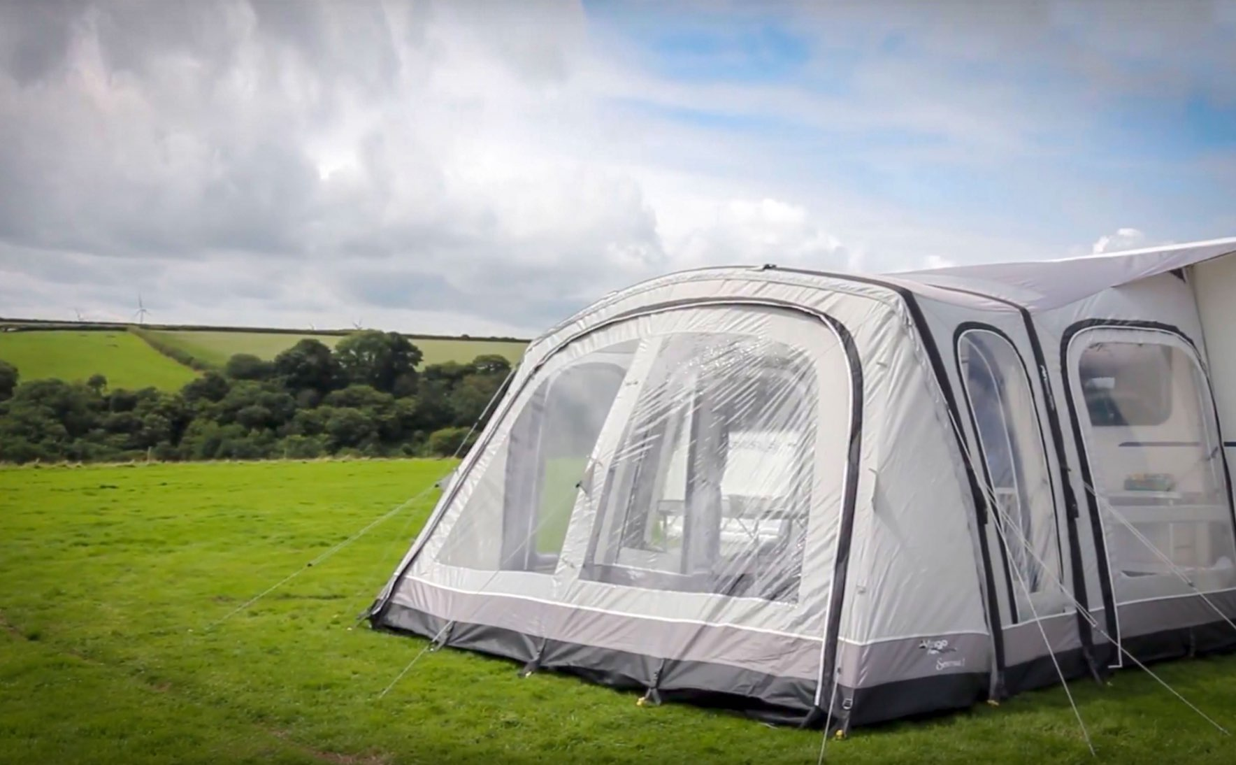 Awnings at North Wales Caravans and Leisure