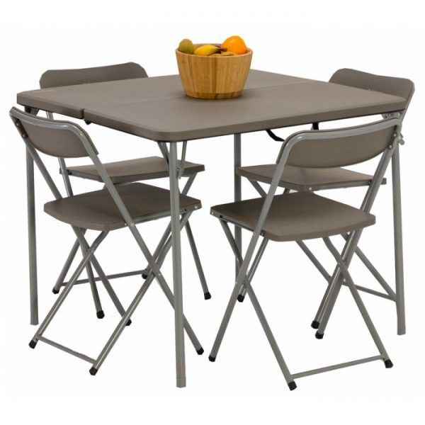 caravanning table and chair set