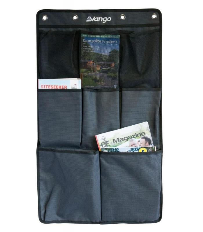 Vango 9 Pocket Sky Storage Organiser Tall Fits Sky Hooks Vango Tents /& Awnings